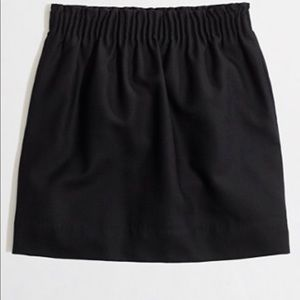 Jcrew Wool Mini skirt in black